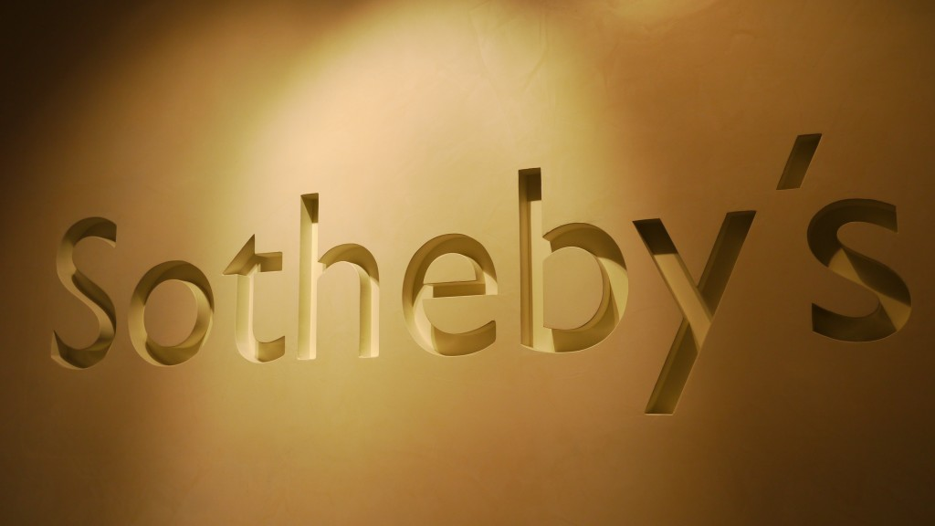 蘇富比 Sotheby's 一月名酒拍賣會 January Auction