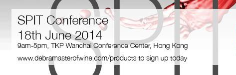 Wine SPIT Conference by Debra Meiburg MW